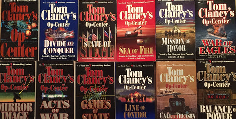 OP Center Series by Tom Clancy (01-12 Ebooks Available in ePUB/Mobi and PDF Formats)
