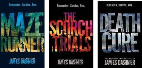 James Dashner - Maze Runner Trilogy (1, 2 & 3 Available in ePUB/Mobi and PDF Formats)