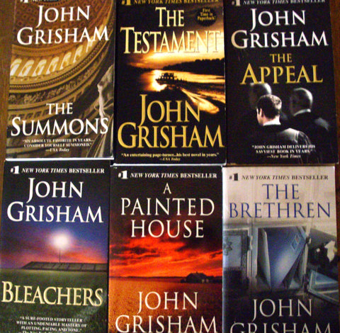 23 Ebooks by John Grisham Available in ePub/Mobi and PDF Formats