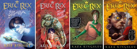 Erec Rex Series by Kaza Kingsley (01-04 Ebooks Available in Epub/Mobi and PDF Formats)