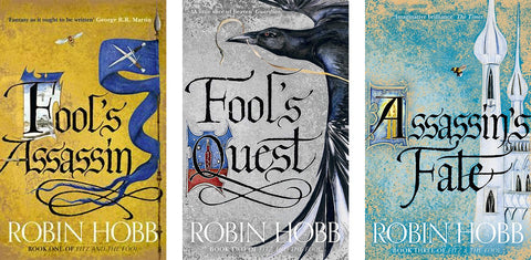 Fitz and the Fool Trilogy by Robin Hobb (Available in ePub/Mobi and PDF formats)