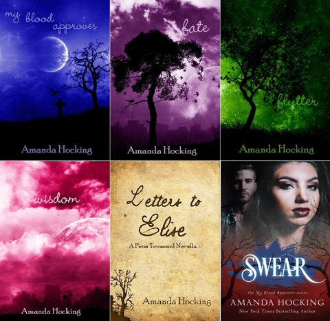 My Blood Approves Series by Amanda Hocking (01-06 Ebooks Available in Epub/Mobi and PDF formats)