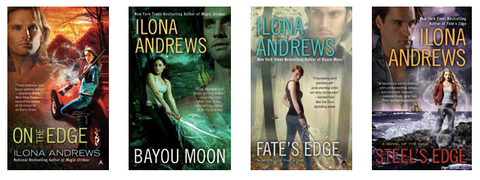 The Edge Complete Series by Ilona Andrews (Available in ePub/Mobi and PDF Formats)