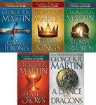 A Song of Ice and Fire Complete Series by George R.R. Martin (available in ePub/Mobi and PDF formats)
