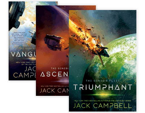 The Genesis Fleet Series by Jack Campbell (01-03 Ebooks Available in EPUB/Mobi and PDF Formats)