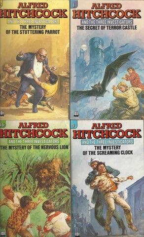 The Three Investigators Mystery Collection by ALFRED HITCHCOCK Available in ePUB/Mobi and PDF Formats