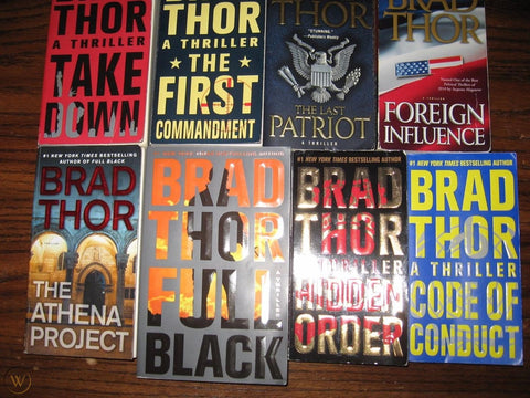 Scot Harvath Series by Brad Thor - 01-18 Ebooks