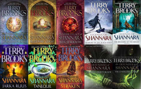 Shannara Complete Series by Terry Brooks (Available in ePub/Mobi and PDF formats)