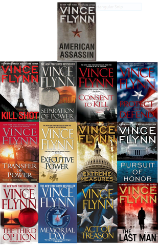Mitch Rapp Series by Vince Flynn Available in ePUB/Mobi and PDF Formats