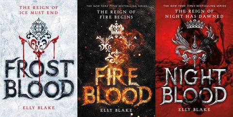 Frost Blood Series by Elly Blake Available in EPUB/Mobi and PDF Format