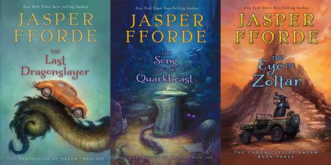 Last Dragonslayer Series by Jasper Fforde Available in EPUB/Mobi and PDF Formats