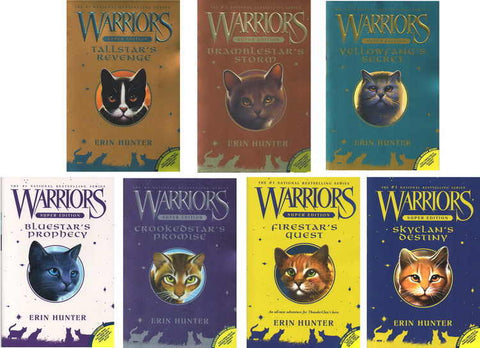 Warriors Super Editions by Erin Hunter