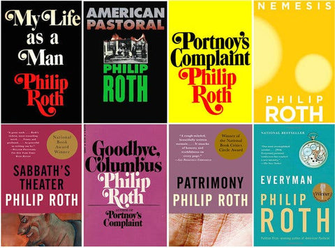 Philip Roth Ebooks Collection Available in Epub/Mmobi and PDF Formats