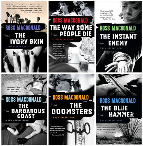 Ross Macdonald Ebooks Collection - 21 Ebooks