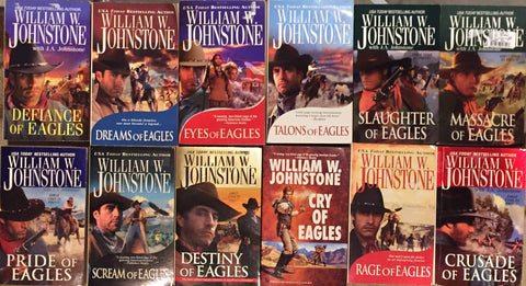 Eagle Series by William W. Johnstone (01-18 Ebooks Available in ePub/Mobi and PDF Formats)