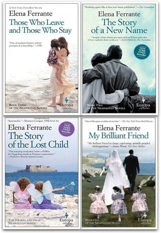 Elena Ferrante Ebooks Collection Available in EPUB/MOBI and PDF Formats