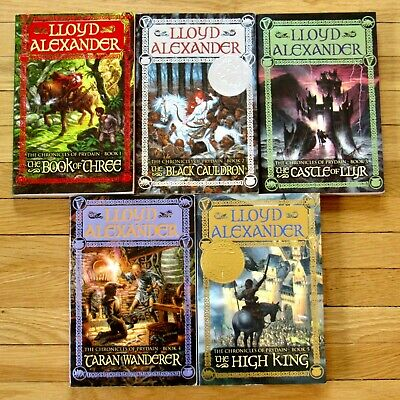 Chronicles of Prydain by Lloyd Alexander Series Available in (1-5 Ebooks) EPUB/Mobi and PDF Formats