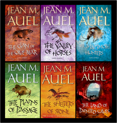 Earth's Children Complete Series by Jean M Auel (1-6 Ebooks Available in Epub/Mobi and PDF formats)