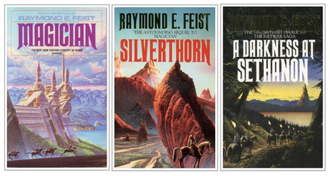 Raymond E. Feist Ebooks Collection Available in Epub/Mobi and PDF Formats