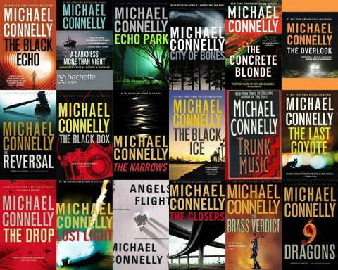 Michael Connelly - Harry Bosch complete series (20 Novels Available in ePUB/Mobi and PDF Formats)
