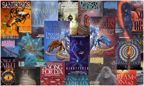 George R R Martin Ebooks Collection Available in EPUB/Mobi and PDF Formats