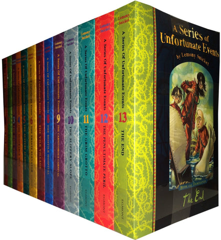 A Series of Unfortunate Events by Lemony Snicket (01-13 Ebooks Available in EPUB/Mobi and PDF Formats)