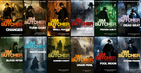 Dresden Complete Series by Jim Butcher (1-15 Ebooks Available in ePub/Mobi and PDF formats)