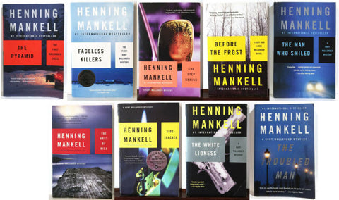 Mankell-Kurt Wallander Series (01-10 Ebooks Available in ePub/Mobi and PDF formats)