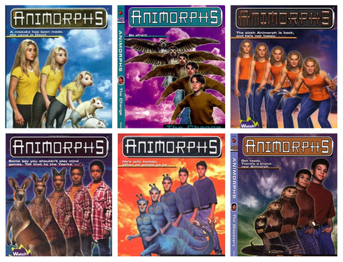 Animorphs & Everworld Complete Series by K. A. Applegate Available in ePUB/Mobi and PDF Formats