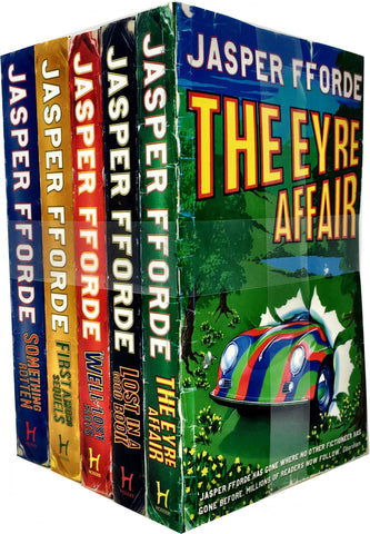 Thursday Next Series by Jasper Fforde (01-07 Ebooks Available in EPUB/Mobi and PDF Formats)
