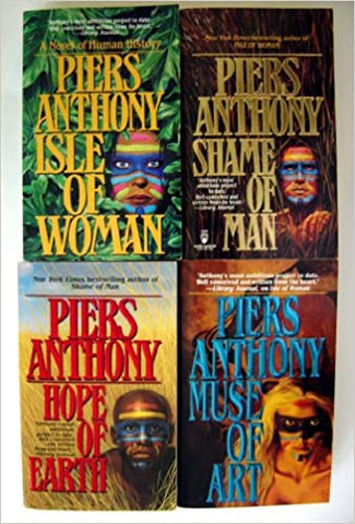 Geodyssey Complete Series by Piers Anthony (01-04 Ebooks Available in ePUB/Mobi and PDF Formats)