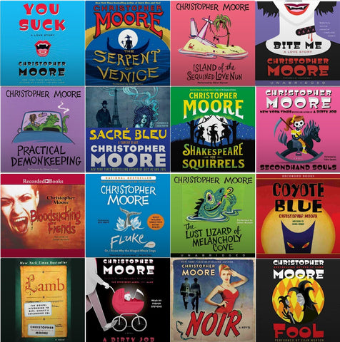 Six Novels by Christopher Moore