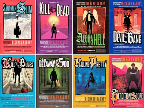 Sandman Slim Complete Ebooks Series by Richard Kadrey (1-11 Ebooks Available in ePUB/Mobi and PDF Formats)