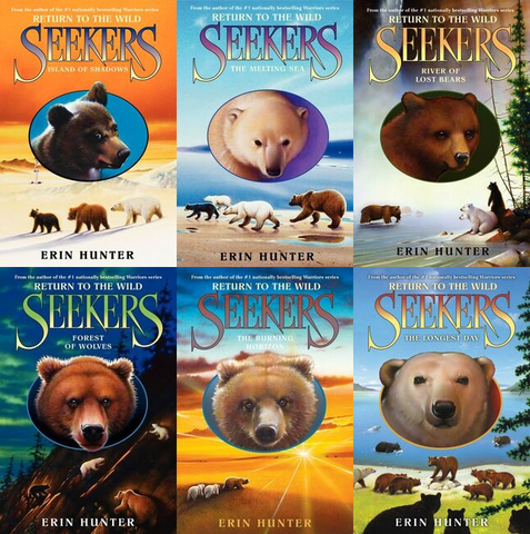 Seekers Return to the Wild Complete Series by Erin Hunter Available in Epub/Mobi and PDF Formats