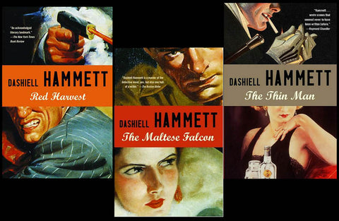 Dashiell Hammett Novels and Short Stories (22 Ebooks Available in Epub/Mobi and PDF Formats)