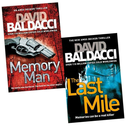 Amos Decker Series by David Baldacci 01-05 Complete Series