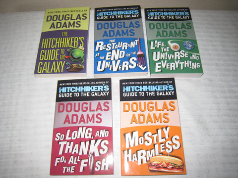 The Hitchhiker Series by Douglas Adams (Available in ePUB/Mobi and PDF Formats)