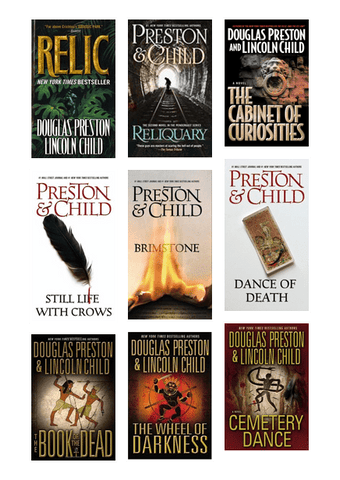 Pendergast Series by Douglas Preston Available in Epub/Mobi and PDF Formats