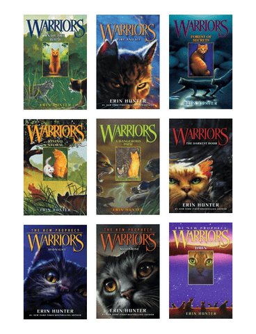 Warriors The New Prophecy by Erin Hunter