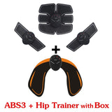 Abdominal machine - Electric muscle stimulator - ABS - Trainer fitness - Weight loss - Body slimming - Massage