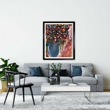 Load image into Gallery viewer, Still Life in a Blue Vase