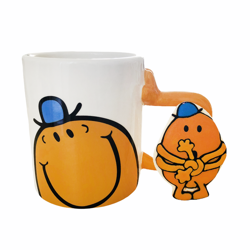"""TICKLE MY FANCY"" MUG + HAND-ICED MR. TICKLE COOKIE GIFT SET"