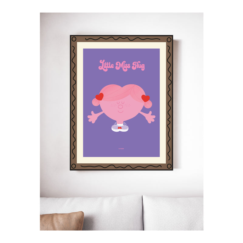 LITTLE MISS HUG GALLERY ART PRINT