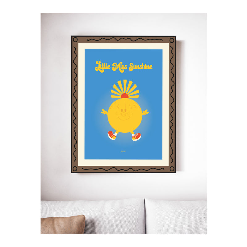 LITTLE MISS SUNSHINE GALLERY ART PRINT