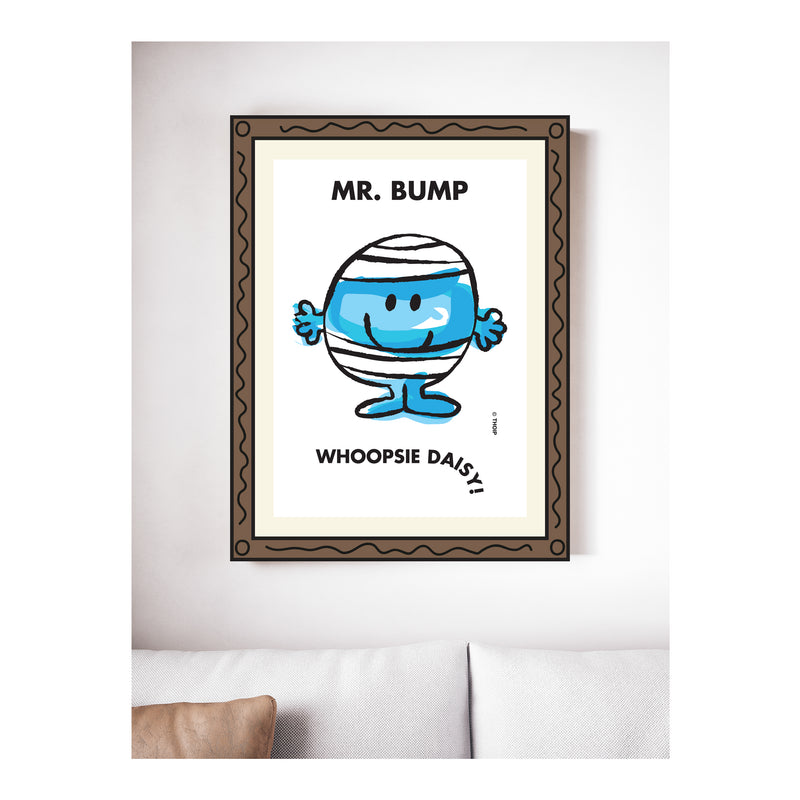 MR. BUMP WATERCOLOUR ART PRINT