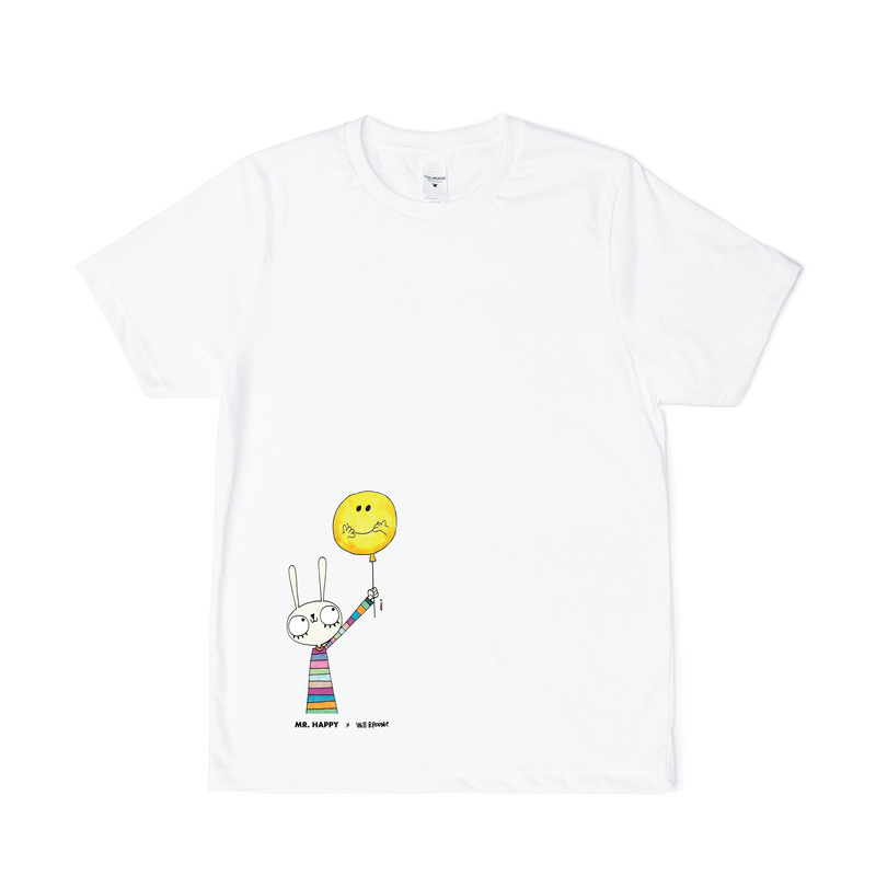 BUNNY WITH BALLOON CHILDREN'S T-SHIRT