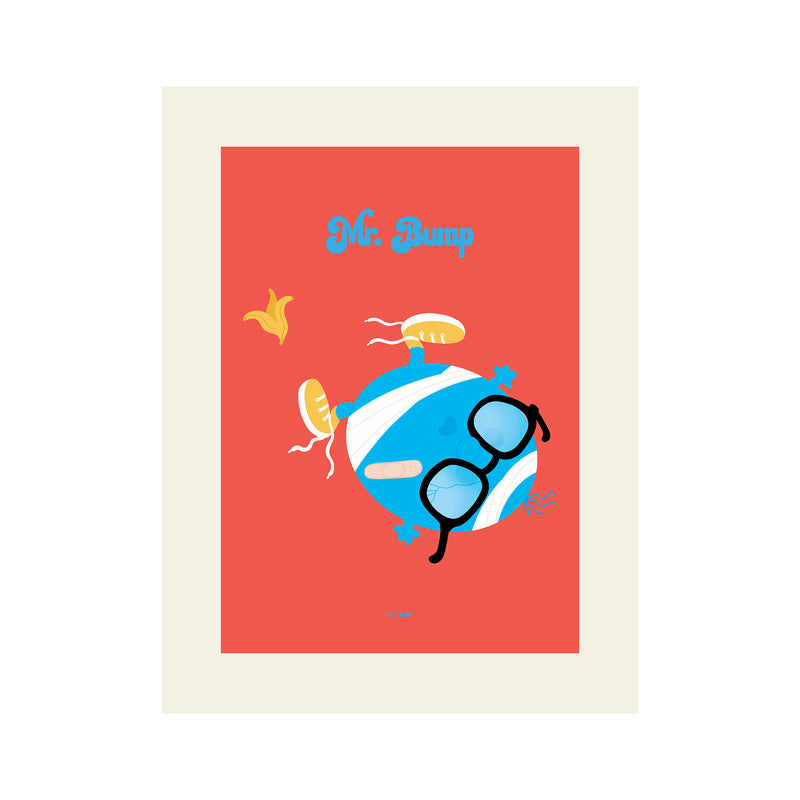 MR. BUMP GALLERY ART PRINT