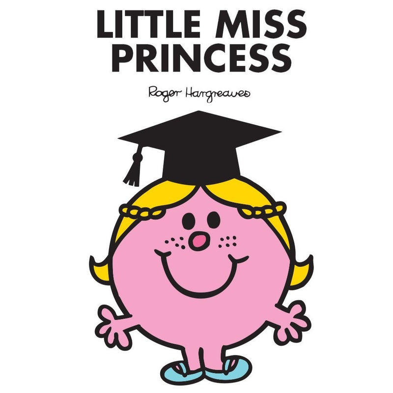 LITTLE MISS PRINCESS GRADUATION PERSONALISED ART PRINT