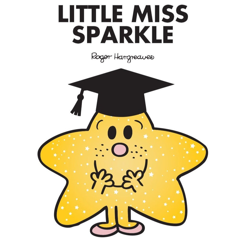 LITTLE MISS SPARKLE GRADUATION PERSONALISED ART PRINT