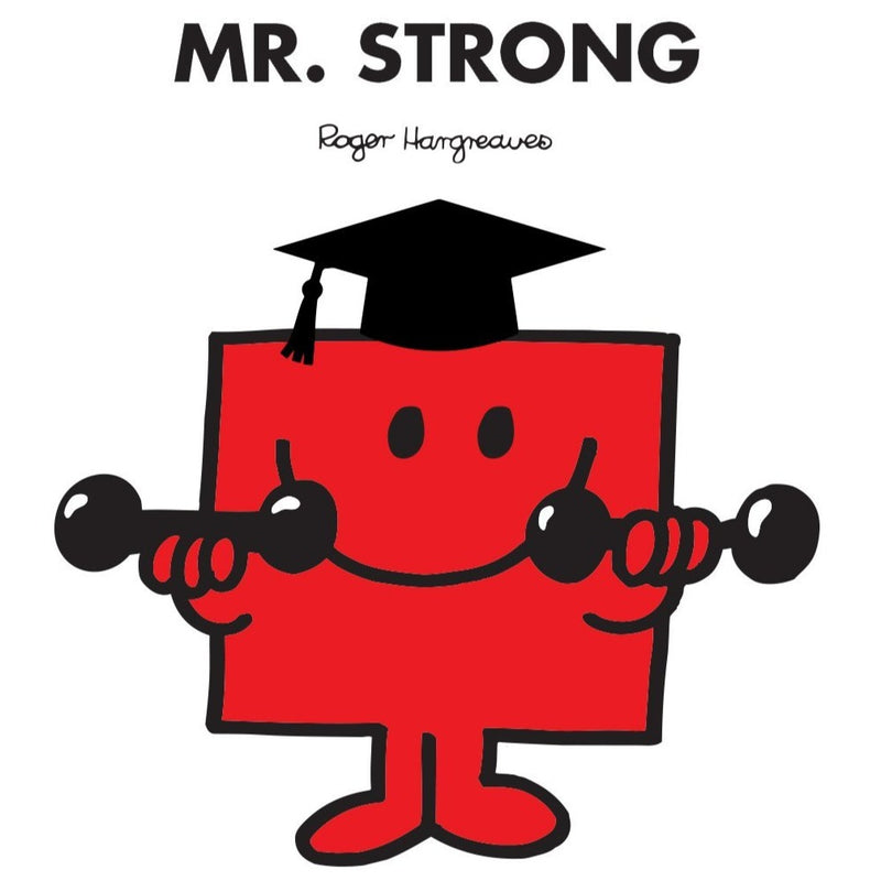 🎓 MR. STRONG GRADUATION PERSONALISED ART PRINT